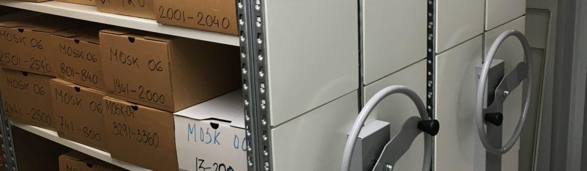 Nytt kompaktarkiv i stål