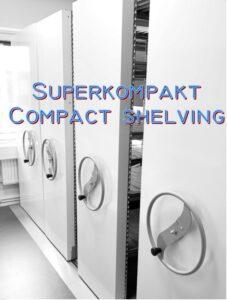 Kompaktarkiv i stål